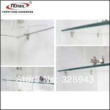 glass shelf clamp clip