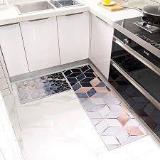 waterproof non slip kitchen rug