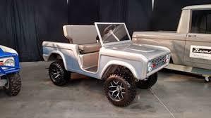 Bronco Golf Cart Body Kit Broncitis Parts Accessories Collectibles