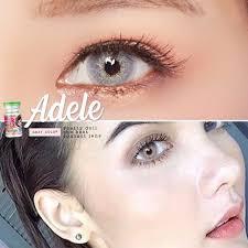 🍀 Adele Gray บิ๊กอาย สีเทา สายฝอ สายผี 💙 Adele เทา ฝาเขียว ได้ใจ  ทั้งงานสวย งานหลอน 💚 HelloWeen ทั้งดุ เผ็ด สีสว่าง   Shopee Thailand