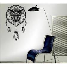 Diyws Dream Catcher Owl Boho Totem Wall Decor Art Home Mural Sticker Vinyl Decal Room