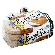whole wheat bagel thins bread