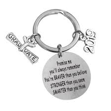 wondergirls unusual graduation gift keychain inspirational