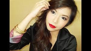 noche buena a alog makeup tutorial