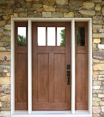 exterior doors acclimated entry
