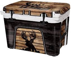 Amazon Com Usatuff Wrap Cooler Not Included Full Kit Fits Yeti 110qt Tundra Protective Custom Vinyl Decal Usa Tuff Buck Wood Crosshair Sports Outdoors