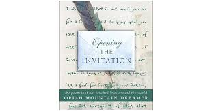opening the invitation the poem that