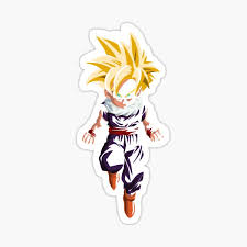 Kid Gohan Stickers Redbubble