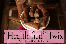 low carb candy homemade twix