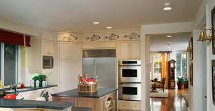 kitchen recessed lighting layout and
