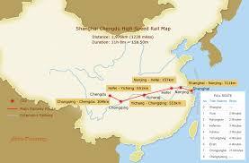 shanghai to chengdu high sd trains