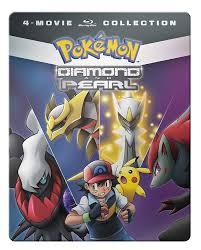 Amazon.com: Pokemon Diamond & Pearl Movie 4-Pack [Blu-ray ...