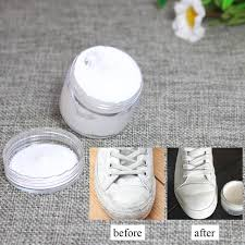 white leather paint shoe cream coloring