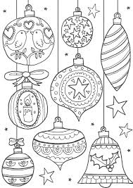 Voorbeelden Kerstballen Voor Op Het Raam Kerstmis Kleurplaten