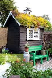 gap gardens garden shed with living