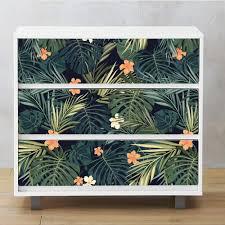 Amazon Com Alwayspon Self Adhesive Dresser Sticker Peel And Stick Furniture Stickers Decals Removable Furniture Skin 010 Malm Home Kitchen