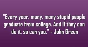 inspirational funny high school graduation quotes