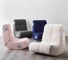 Navy Twill Mini Rocker Speaker Chair Kids Lounge Chair Pottery Barn Kids