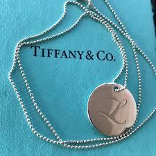 tiffany notes alphabet disc charm and