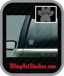 3 Iron On Paw Print Transfer Rhinestone Paw Print Dog Cat Paw Print Iron On Pet Sitter Pet Services Dog Mom Dad Grandma Groomer Rhinestone Paw Print Rhinestone Decal Rhinestone Car