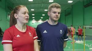 Marcus Ellis & Lauren Smith look forward to pulling on Team GB shirts -  YouTube