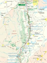 What Are The Best Section Hikes In The Middle Of The Appalachian Trail Appalachian Trail Map Appalachian Trail Hiking Appalachian Trail