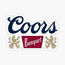Coors Banquet Stickers Redbubble