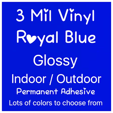 Royal Blue Vinyl Blue Gloss Vinyl Permanent Adhesive Vinyl Craft Vinyl Sticker Decal Vinyl Outdoor Vinyl Silhouette Vinyl Cricut By Live Laugh Love Ocean Catch My Party
