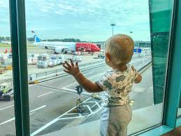 flying with a baby travel tips from