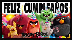 Tarjetas Cumpleanos Angry Birds