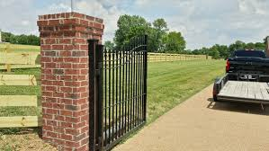 Brick And Stone Columns Middle Tennessee Fence