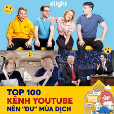 TOP 100 KÊNH YOUTUBE TIẾNG ANH HAY BẠN NÊN THEO DÕI