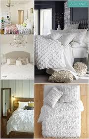 bedroom inspiration white bedding