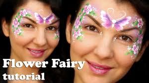 easy flower fairy makeup face