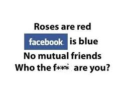 friend request on facebook quotes