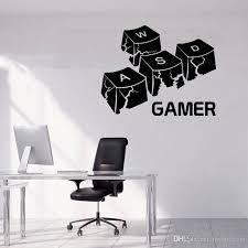 Gamer Controller Wasd Game Handle Wall Sticker Vinyl Home Decor For Boys Bedroom Playroom Gamer Room Decals Removable Mural Tree Wall Decor Stickers Tree Wall Mural Decal From Joystickers 11 67 Dhgate Com
