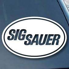 Sig Sauer Firearms Car Window Vinyl Decal Sticker 5 Wide Color White Sticker Toy Stickers Mix Sticker Type Sticker Toy Sticker Mixtoy Sticker Aliexpress