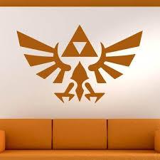 Zelda Triforce Logo Wall Art Sticker As10258 Ebay