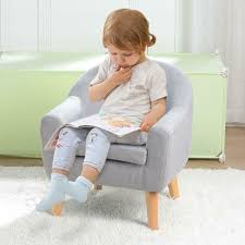 Kids Armchair Chair Couch Sofa Ottoman Armrest Single Bedroom Living Room Us For Sale Online Ebay