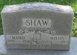 Mamie Louella Smith Shaw (1885-1936) - Find A Grave Memorial