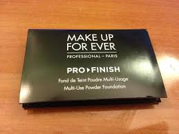 makeup forever pro finish foundation