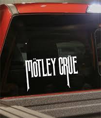 Motley Crue Band Decal North 49 Decals