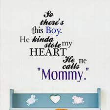 So There S This Boy Mother And Son Quote Vinyl Wall Decal Sticker Decor Designs Decals Son Quotes Son Quotes From Mom Boy Quotes