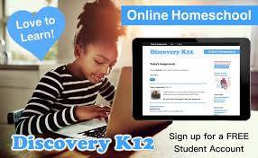 Image result for discovery k12 logo