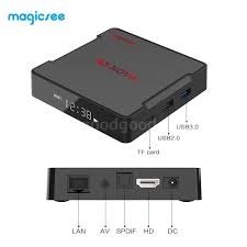 Magicsee N5 NOVA Smart Android 9.0 TV Box 4+64GB Quad Core HD ...