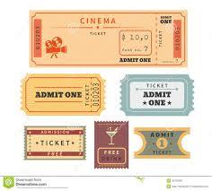 Resultado De Imagen De Boletos De Cine Para Invitacion Boleto De