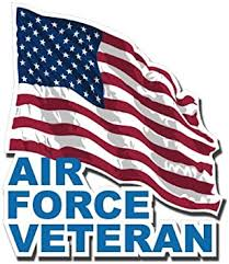 Amazon Com Magnet Us Air Force Veteran With American Flag Decal Military Veteran Served Car Bumper Sticker Magnetic Vinyl 3 8 Automotive