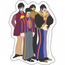 The Beatles Stickers Decals Bumper Stickers