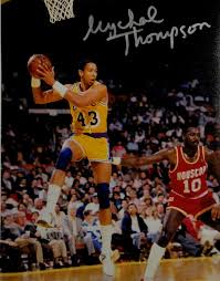Mychal Thompson Hand Signed Autographed 8x10 Photo Los Angeles Lakers  Showtime at Amazon's Sports Collectibles Store