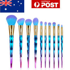 10pcs makeup brush sets powder blending